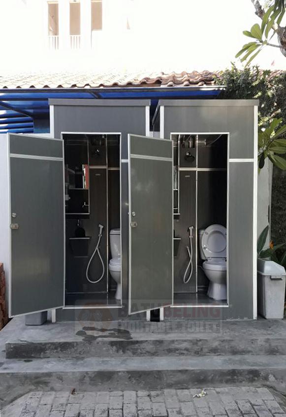 Pengiriman Toilet Portable Ke Graha Famili Surabaya