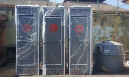 Pengiriman Toilet Portable Ke Denpasar - Bali