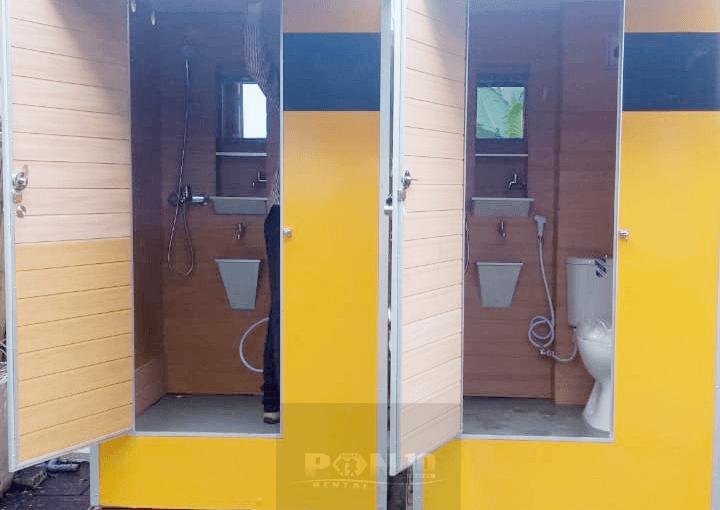 Portable Toilet Deluxe Plus di Balai Kota Surabaya